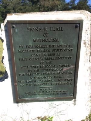 Pioneer Trail of Methodism Marker image. Click for full size.