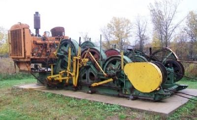 Quarry Derrick Engine & Drum Hoists image. Click for full size.