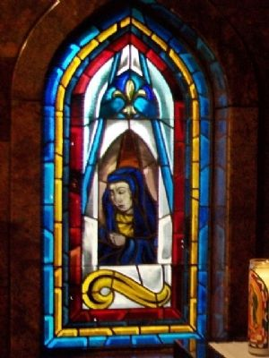 Assumption Chapel Stained Glass Window image. Click for full size.