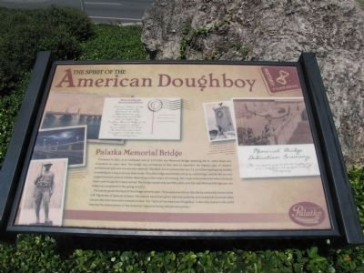 The Spirit of the American Doughboy Marker image. Click for full size.