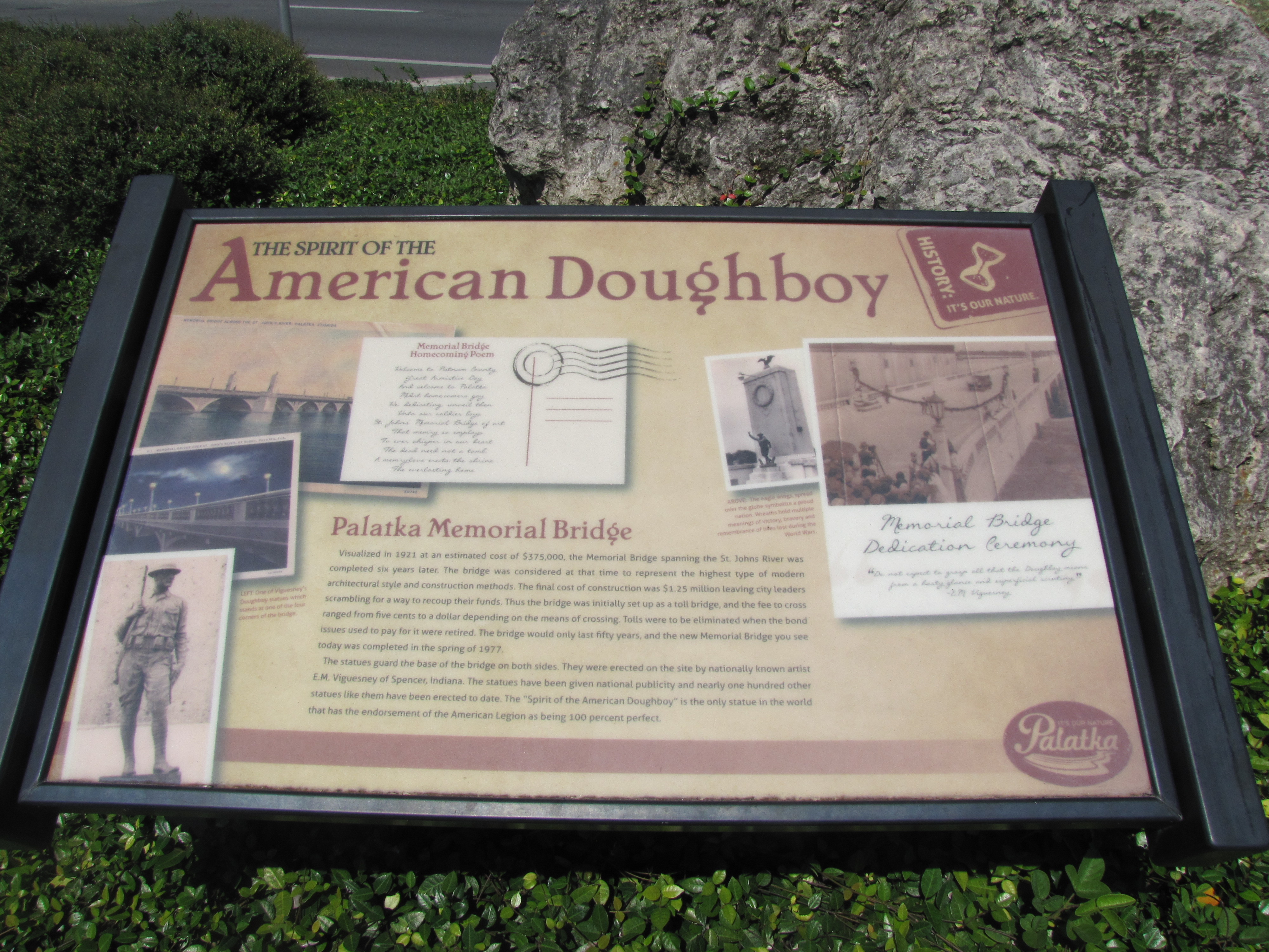 The Spirit of the American Doughboy Marker