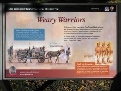 Weary Warriors Marker image. Click for full size.