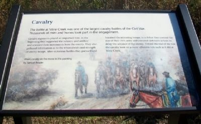 Cavalry Marker image. Click for full size.
