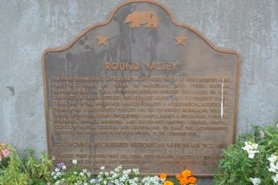 Round Valley Marker image. Click for full size.