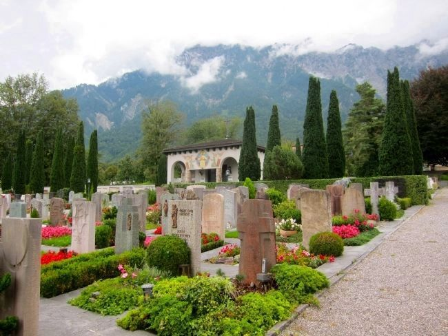 Schaan Cemetery and Chapel image. Click for full size.