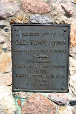 Old Town Pump Marker image. Click for full size.