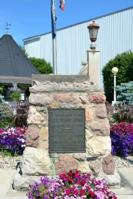 Old Town Pump Memorial image. Click for full size.
