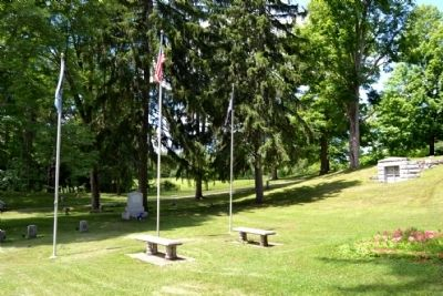 Cassopolis Veterans Memorial image. Click for full size.