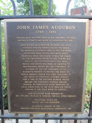 John James Audubon Marker image. Click for full size.