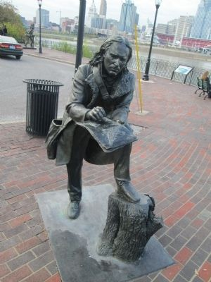 John James Audubon Statue image. Click for full size.