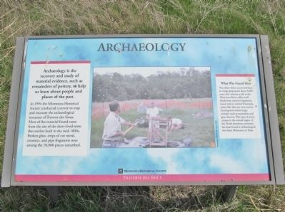Archaeology Marker image. Click for full size.