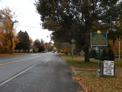 "Wideview of ""Vermont's First College"" Marker image. Click for full size."