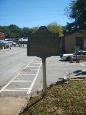 Oglethorpe County Marker image. Click for full size.