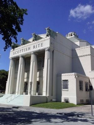 Scottish Rite Temple image. Click for full size.