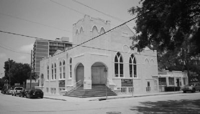 Historic photo of Trinity CME Church image. Click for full size.