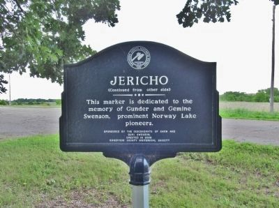 Jericho Marker image. Click for full size.