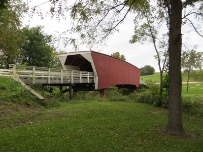 Cedar Covered Bridge image. Click for full size.