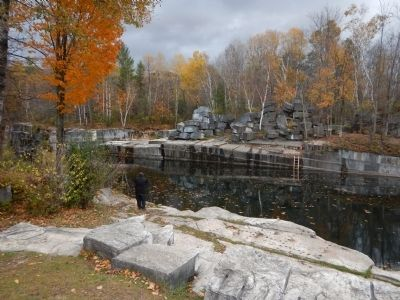 Old Marble Quarry image. Click for full size.