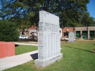 Oglethorpe County Veterans Monument Marker image. Click for full size.