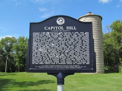 Capitol Hill Marker image. Click for full size.