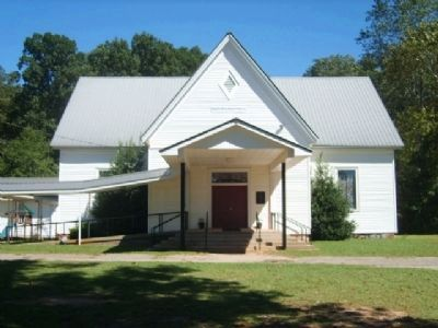 Cloud's Creek Baptist Church image. Click for full size.