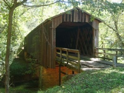 Howard's Covered Bridge image. Click for full size.
