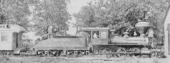Private Train on Smith's Property image. Click for full size.