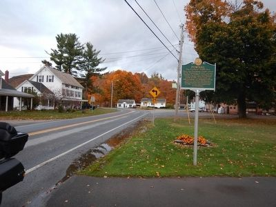 Wideview of Pownal Marker image. Click for full size.