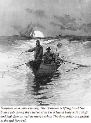 Fishing from dories image. Click for full size.