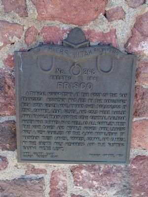 Frisco Marker image. Click for full size.