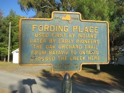 Fording Place Marker image. Click for full size.