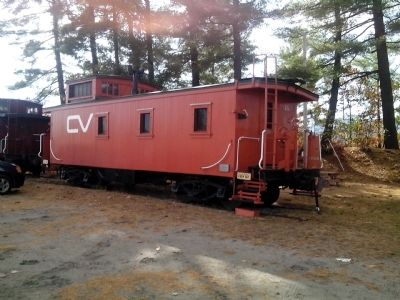 Caboose CV-4011 and Marker image. Click for full size.