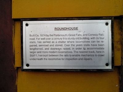 Roundhouse Marker image. Click for full size.
