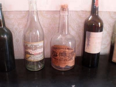 Beer, Wine and Hard liquor Bottles. image. Click for full size.