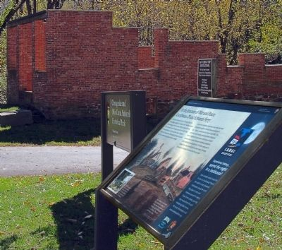 At the Junction of War and Peace Marker image. Click for full size.