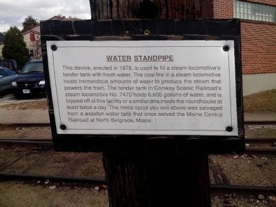 Water Standpipe Marker image. Click for full size.