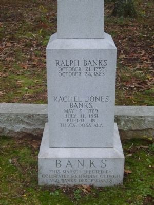 Banks Family Monument image. Click for full size.