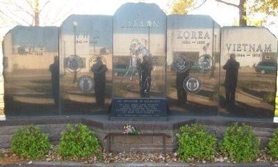 All Veterans Memorial image, Touch for more information