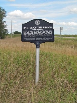 Battle of the Broom Marker image. Click for full size.