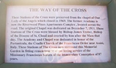 The Way of the Cross Marker image. Click for full size.