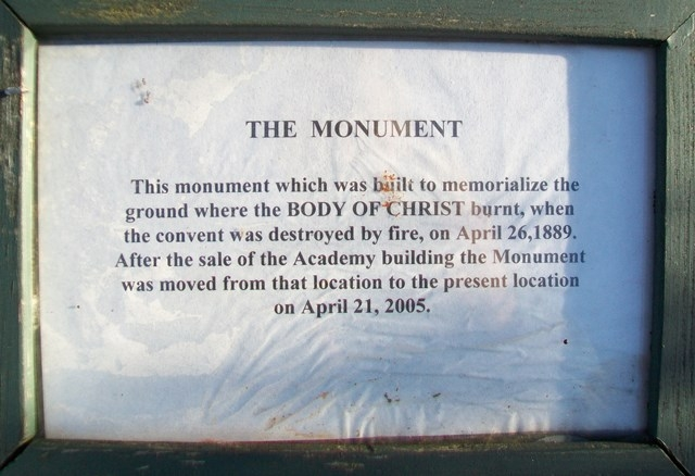 The Monument Marker