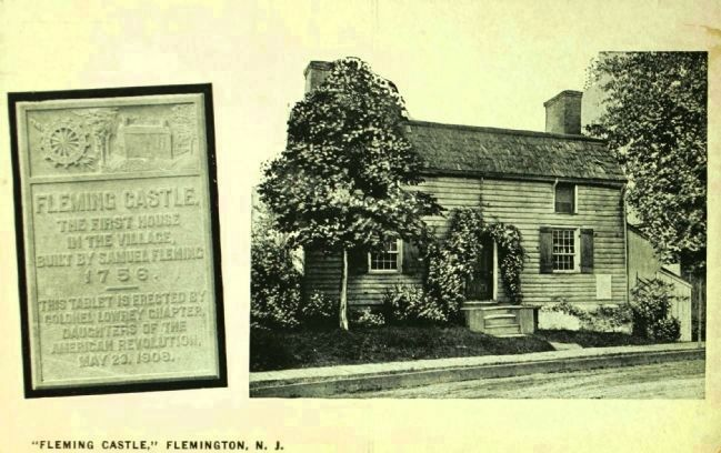 "<i>""Fleming Castle"", Flemington, N.J.</i> - Historical Postcard image. Click for full size."