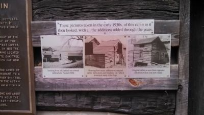Original Settler's Cabin Photos image. Click for full size.