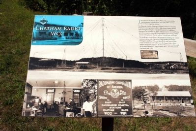 Chatham Radio/WCC Marker image. Click for full size.