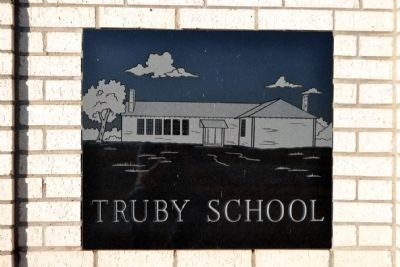 Etching of Truby School on Marker Structure image. Click for full size.