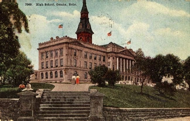 <i>High School, Omaha, Nebr.</i> image. Click for full size.