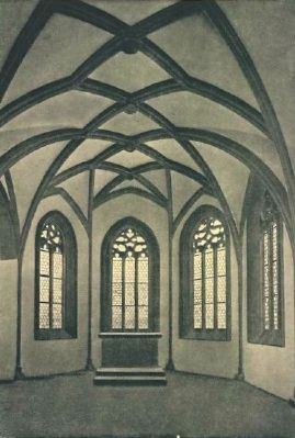 Johanniskapelle - Interior, Upper Chapel - Historical Postcard View image. Click for full size.