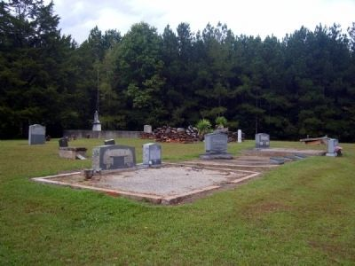 Van's Creek Baptist Church Cemetery image. Click for full size.