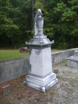 Grave of Joseph and Margaret Rucker<br>Namesakes of Ruckersville Community image. Click for full size.