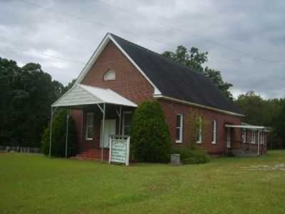 Van's Creek Baptist Church image. Click for full size.